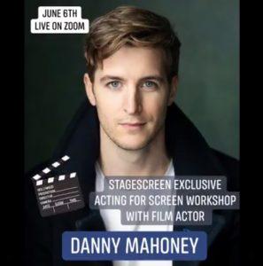 Danny Mahoney runs StageScreen workshop