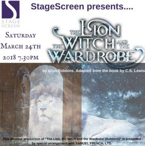 Stagescreen Lion Witch Wardrobe poster