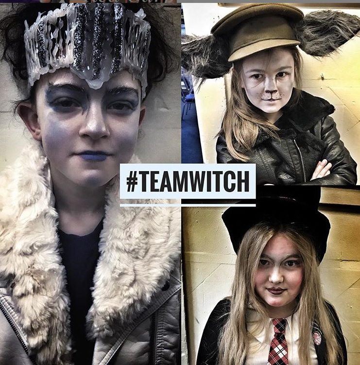 StageScreen team witch characters