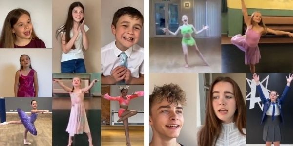 Virtual performing arts festival bursary finalists