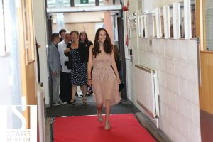 StageScreen student walks the red carpet