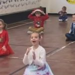 StageScreen Starlets class reacts to Santa visit