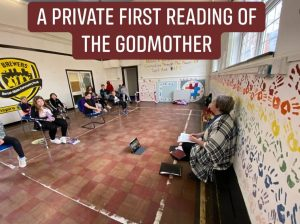Reding The Godmother play about Lily Thomas
