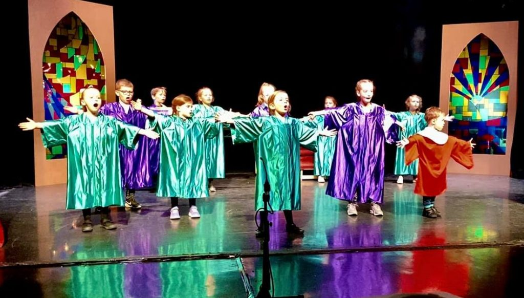 Altar Boys in Sister Act Jr by StageScreen