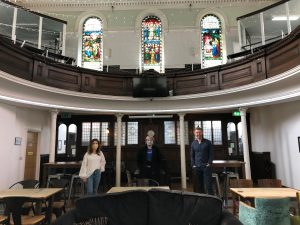 An interior shot of The Trinity, Burton