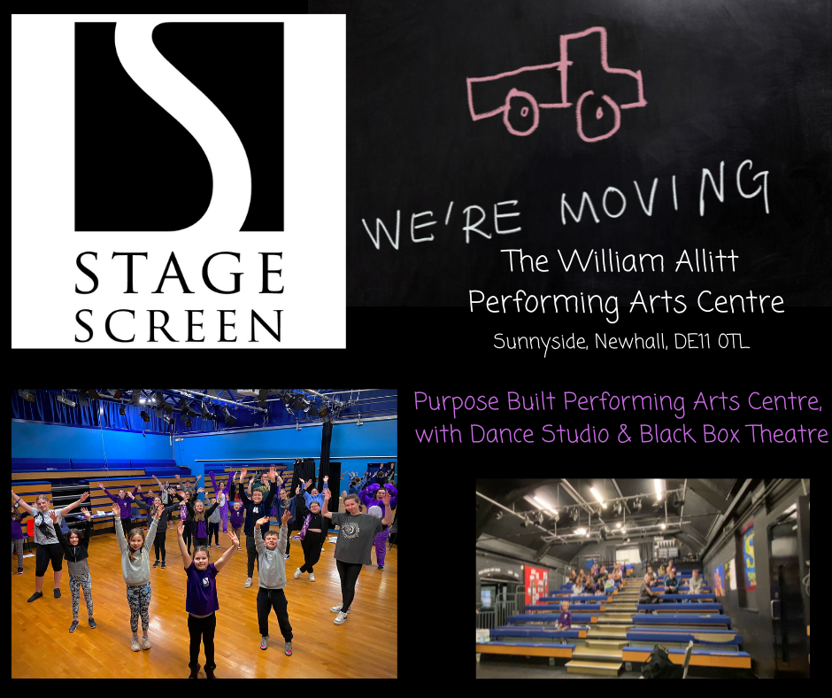 StageScreen is mobing to William Allitt Performing Arts Centre